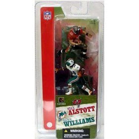 McFarlane SportsPicks Mike Alstott of the NFL Tampa Bay Buccaneers vs. Ricky Williams of the NFL Miami Dolphins
