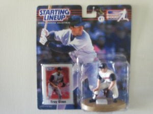 Troy Glaus 2000 Starting Line Up Anaheim Angels