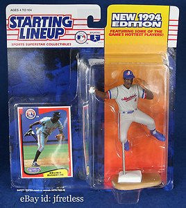 1994 Delino DeShields MLB Starting Lineup Figure Montreal Expos