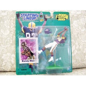2000 Randy Moss Terrell Davis Ricky Williams Jake Plummer All Four Starting lineup
