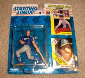 1993 Jose Canseco MLB Starting Lineup Texas Rangers