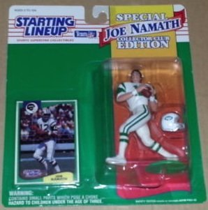 1994 Joe Namath Starting Lineup SPECIAL EDITION New York Jets