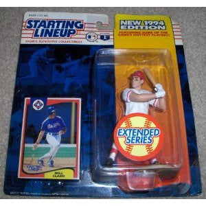 1994 Will Clark MLB Extended Series Starting Lineup Texas Rangers
