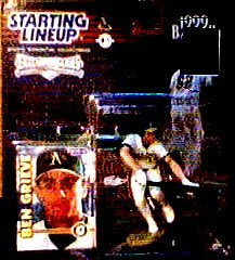 Ben Grieve - Starting Lineup 1999 Baseball Extended Series Action Figure Atlanta Braves