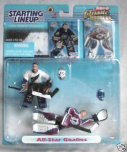 Starting Lineup NHL 2000 Classic Double Olaf Kolzig Patrick Roy
