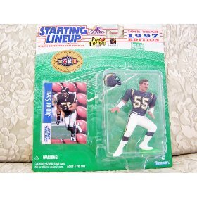 1997 NFL Starting Lineup - Junior Seau - Super Bowl XXXII San Diego Exclusive