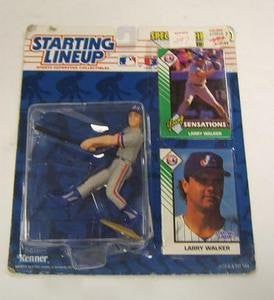 1993 Larry Walker MLB Starting Lineup Montreal Expos