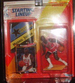 Starting Lineup 1992 Michael Jordan Sports Collectible Figure Chicago Bulls