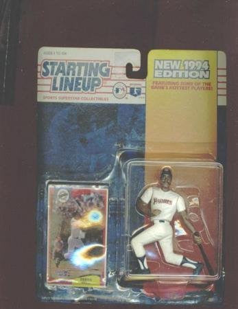 Derek Bell San Diego Padres Action Figure - MLB New 1994 Edition Starting Lineup