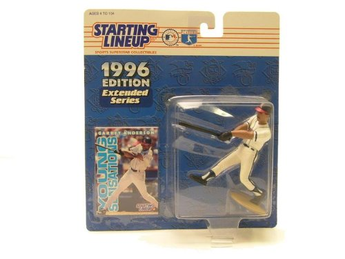 1996 Garret Anderson MLB Starting Lineup