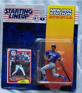 1994 Joe Carter MLB Starting Lineup Figure Toronto Blue Jays