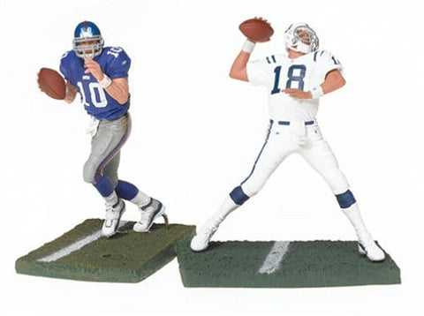 McFarlane Toys NFL Sports Picks Action Figure 2-Pack Peyton Manning & Eli Manning