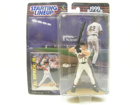 CAL RIPKEN JR. / BALTIMORE ORIOLES 1999 MLB Starting Lineup Action Figure & Exclusive Collector Trading Card