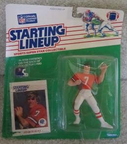 1988 John Elway Denver Broncos Kenner Starting Lineup Figure
