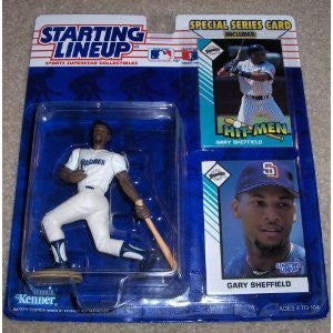 1993 Gary Sheffield MLB Starting Lineup Figure San Diego Padres