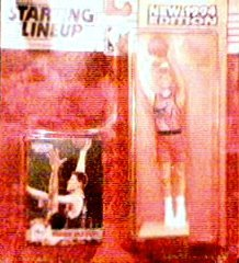 Shawn Bradley 1994 Edition Starting Lineup Action Figure with Rookie Card Philadelphia 76ers