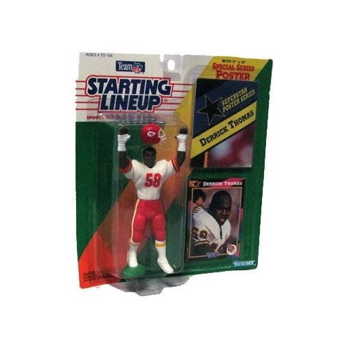Starting Lineup Special Series 4 inch Derrick Thomas Action Figure Kansas City Chiefs
