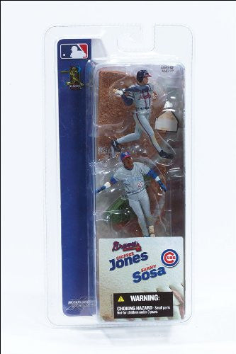 McFarlane Mlb 3 Inch Series 1 Action Figures - Jones & Sosa