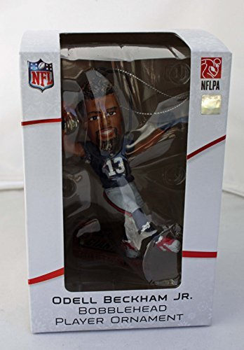 2015 Odell Beckham, Jr. Bobblehead Player Ornament Only 504 were made and each are numbered New York Giants