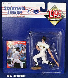 1995 Jeff King MLB Starting Lineup Figure Pittsburgh Pirates