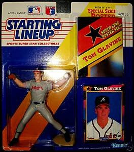 Tom Glavine 1992 Starting Lineup Atlanta Braves