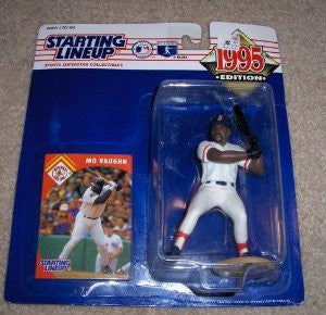 1995 Mo Vaughn MLB Starting Lineup Boston Red Sox