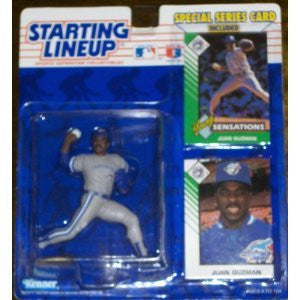 Juan Guzman 1993 Starting Lineup Toronto Blue Jays