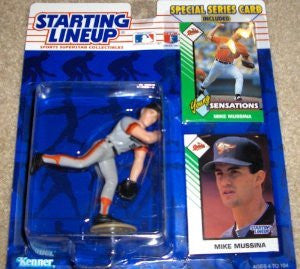Mike Mussina 1993 MLB Starting Lineup Baltimore Orioles