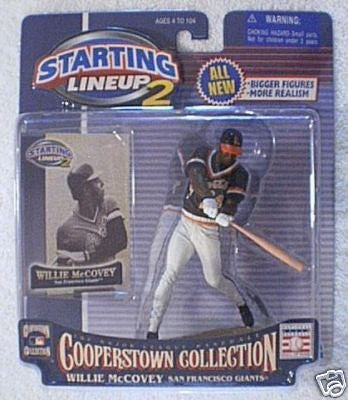 Starting Lineup 2 Cooperstown Collection Willie McCovey