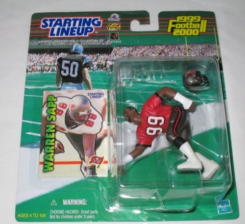 1999 Warren Sapp NFL Starting Lineup