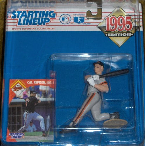 Starting Lineup 1995 Edition Cal Ripken Jr. Baltimore Orioles Grey Uniform