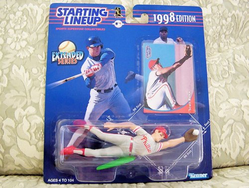 1998 MLB Starting Lineup Extended Series - Scott Rolen Philadelphia Phillies