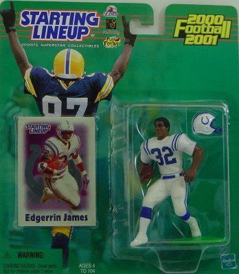 2000 EDGERRIN JAMES Indianapolis Colts NFL Starting Lineup