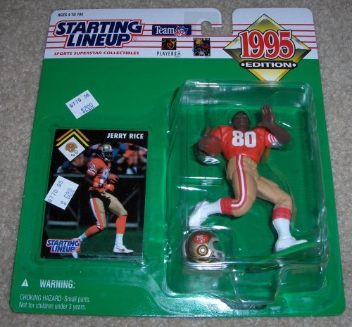 1995 Jerry Rice NFL Starting Lineup San Francisco 49ers