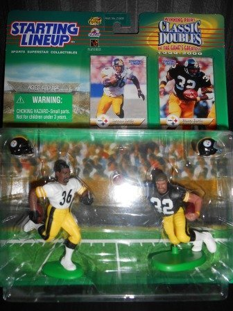 Starting Lineup Classic Doubles 1999-2000 Jerome Bettis & Franco Harris