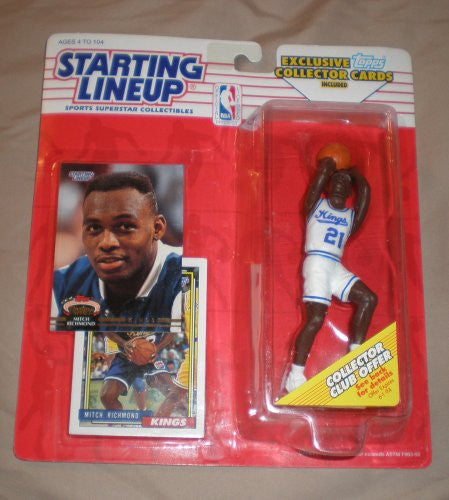 1993 Mitch Richmond NBA Starting Lineup Figure Sacramento Kings