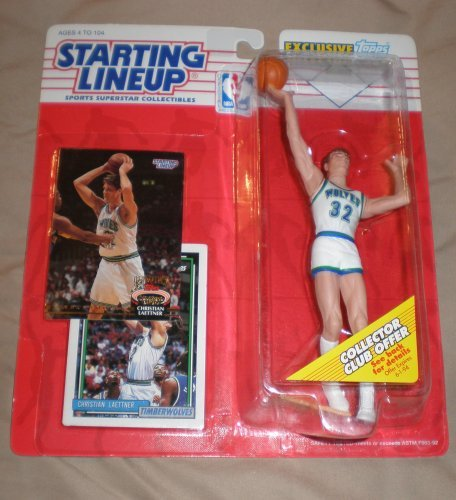 1993 Christian Laettner NBA Starting Lineup Figure Minnesota Timberwolves