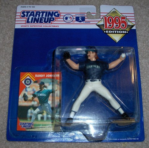 1995 Starting Lineup MLB Randy Johnson #31 Action Figure - Seattle Mariners - w/ Trading Card - Out of Production - New - Mint - Rare - Limited Edition - Collectible