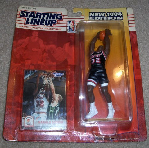 1994 Harold Miner NBA Starting Lineup Miami Heat