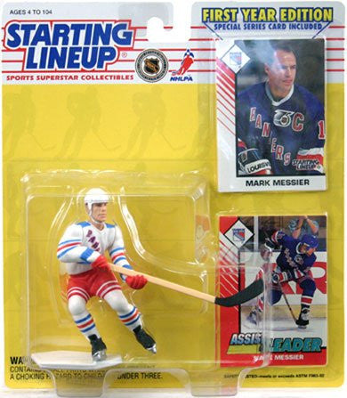 Starting Lineup 1993 NHL Carded Mark Messier (New York Rangers)