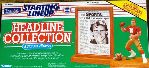 Joe Montana 1991 NFL Headline Collection Starting Lineup