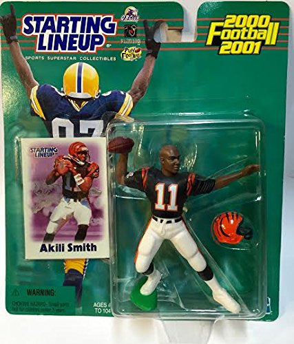 2000 NFL Starting Lineup Hobby Edition - Akili Smith