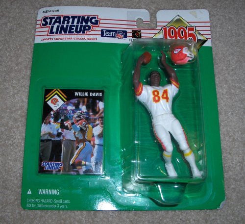 1995 Willie Davis NFL Starting Lineup Kansas City Chiefs