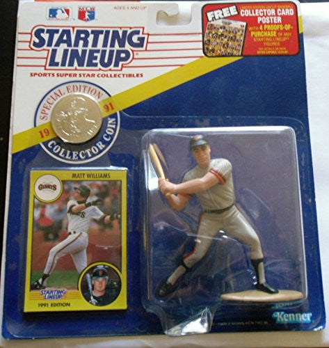 1991 Matt Williams Starting Lineup San Francisco Giants Special Edition