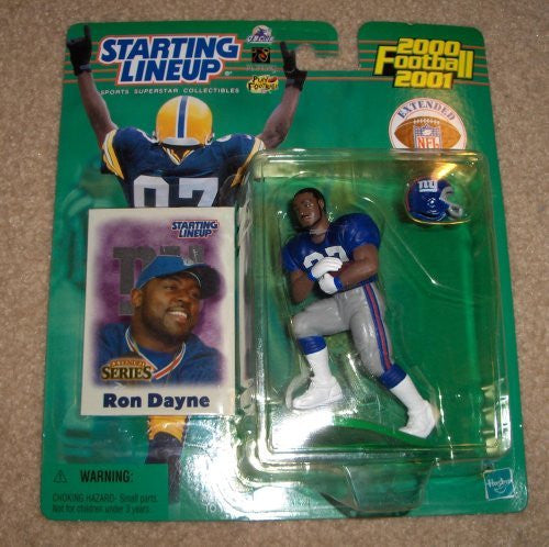 2000 Ron Dayne NFL Starting Lineup Extended Series Figure New York Giants