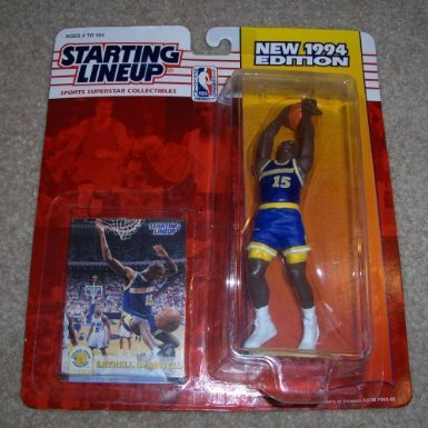 1994 Latrell Sprewell NBA Starting Lineup Golden State Warriors