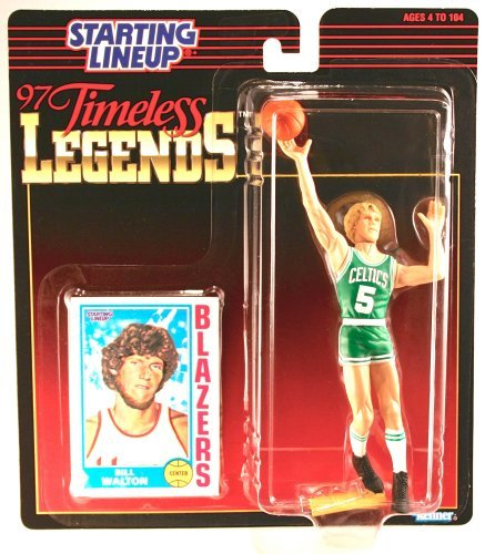 Bill Walton Blazers Starting Lineup Collectible Figure & Card by Starting Line Up