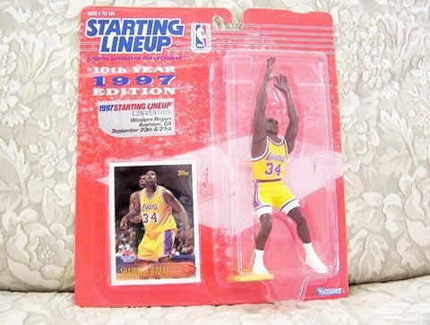 1997 NBA Staring Lineup Anaheim Convention Exclusive - Shaquille O'Neal
