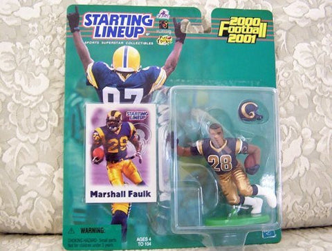 2000 NFL Starting Lineup Hobby Edition - Marshall Faulk - St. Louis Rams