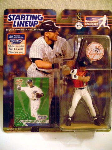 Derek Jeter Starting Lineup 2000 Convention Figure